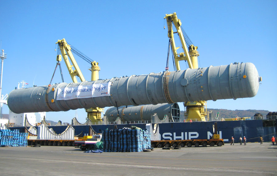 Break Bulk and Project Cargo - NVS - Shipping Services